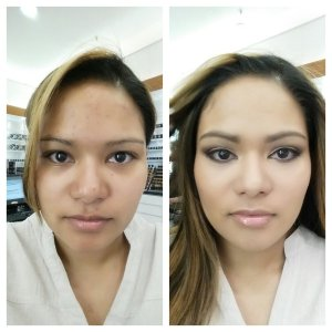 MAC_makeup_makeover_before_and_after